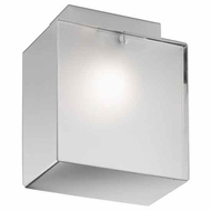 Zaneen D82073 Domino Inox Modern Semi-Flush Ceiling Light