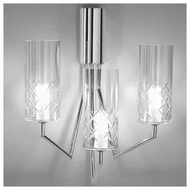 Zaneen D83130 Bri-Bri 3-light Contemporary Style Wall Sconce