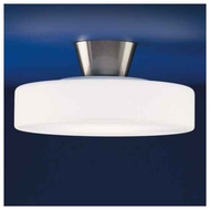 Zaneen D92004 Rondo Small Contemporary Semi-Flush Ceiling Light