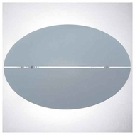 Zaneen D93028 Oval Contemporary Style Wall Sconce