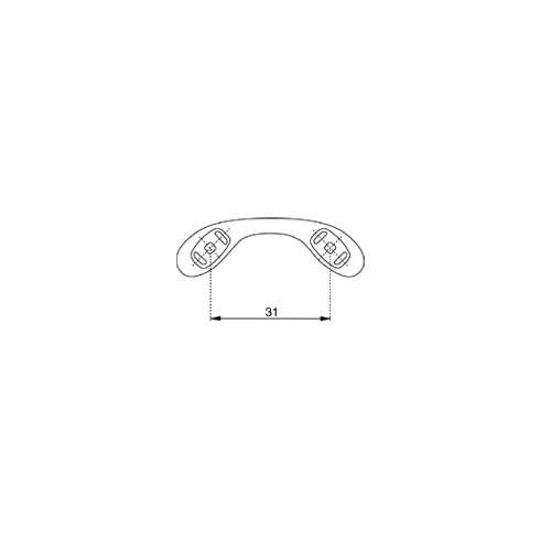 31 mm, Pack of 10