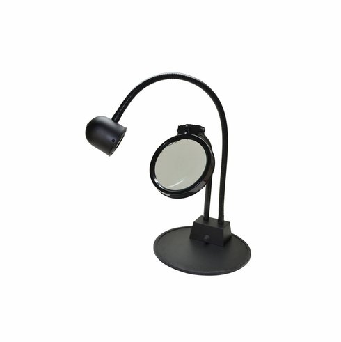 LED Inspection Lamp with 3-Diopter Magnifier Lens