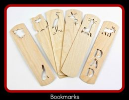 <H3>WOODEN BOOK MARKS<H3>