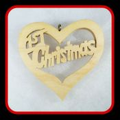 1st Christmas Heart