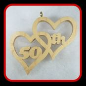 50th Anniversary Hearts