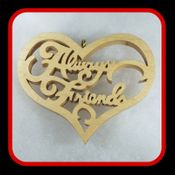Always Friends Heart