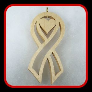 Survivor Ribbon with Heart