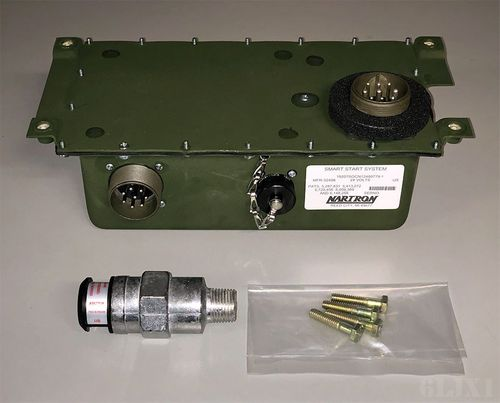 HMMWV Glow Plug Control Box and Temperature Controller - Matched Set (Nartron Smart Start System), 12480779