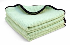 3 Pack  The Guzzler Waffle Weave Towels, 16� x 24�
