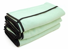 3 Pack The Ultimate Guzzler Waffle Weave Towels By Cobra, 28 x 44 inches