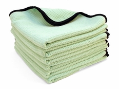 6 Pack  The Guzzler Waffle Weave Towels, 16� x 24�