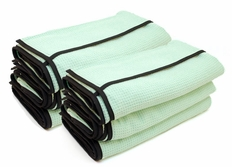 6 Pack The Ultimate Guzzler Waffle Weave Towels By Cobra, 28 x 44 inches