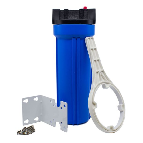 Clear Inline Hose Filter Canister
