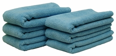 Cobra Blue All Purpose Microfiber Towels 6 Pack