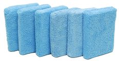 Cobra Microfiber Applicator Pads: 6 Pack