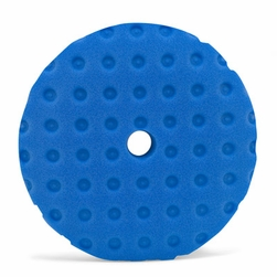 """Curved Edge 8.5"""" Blue Final Finishing Pad"""