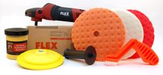 FLEX PE14-2-150 Rotary Polisher Starter Kit
