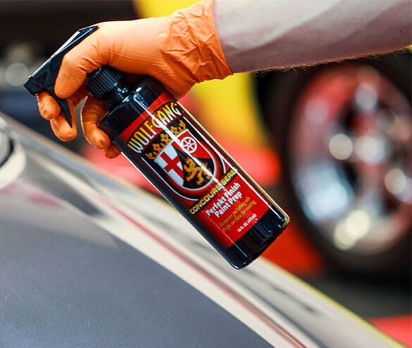 Wolfgang Car Care product line