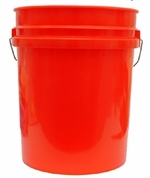 Professional 5 Gallon Wash Bucket <font color=red>Available in red, clear and black.</font> <font color=red> <strong> ON SALE! </strong> </font>