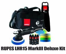 RUPES BigFoot LHR15 MarkIII Random Orbital Polisher Deluxe Kit