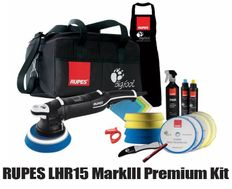 RUPES BigFoot LHR15 MarkIII Random Orbital Premium Kit