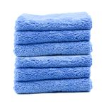 Speed Master Cloud 9 Microfiber Buffing Towel - Blue - 6 Pack