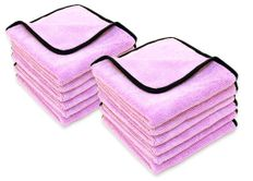 Super Plush Junior Microfiber Towel 12 pack