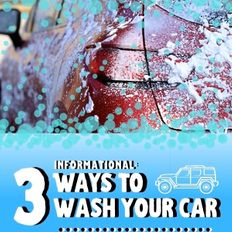 Wolfgang 3 Ways to Wash Your Car