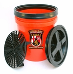 Wolfgang 5 Gallon Wash Bucket Combo - Available in red, clear and black.<font color=red> <strong> ON SALE! </strong> </font>