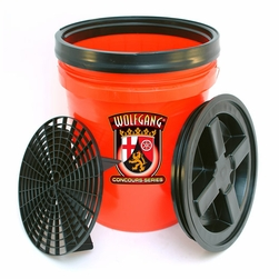 Wolfgang 5 Gallon Wash Bucket Combo - <font color=red> <strong>Available in red, clear and black.</strong> </font>