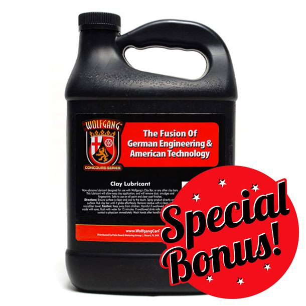 Wolfgang Clay Lubricant 128 oz. Refill
