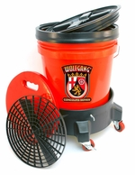 Wolfgang Complete Wash System with Dolly <font color=red>Available in red, clear and black.</font> <font color=red> <strong> ON SALE! </strong> </font>