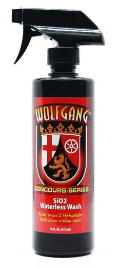Wolfgang SiO2 Waterless Wash