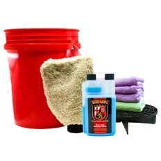 Wolfgang Uber SiO2 Rinseless Wash In-A-Bucket Kit