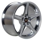 "18"" Fits Ford� Mustang� Saleen Style Wheel - Chrome 18x9"