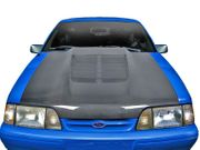 1987-1993 Ford Mustang Carbon Creations GT500 V2 Hood