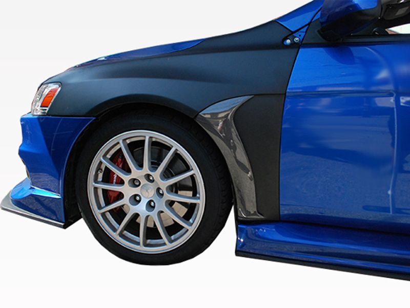 2008-2015 Mitsubishi Evo 10 FVS Fender with Carbon blade