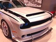 2008-2019 Dodge Challenger Beast Ram Air Hood Demon Style