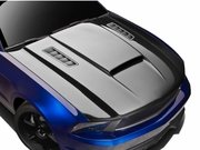 2010-2012 Ford Mustang Carbon Creations CV-X Version 3 Hood - 1 Piece