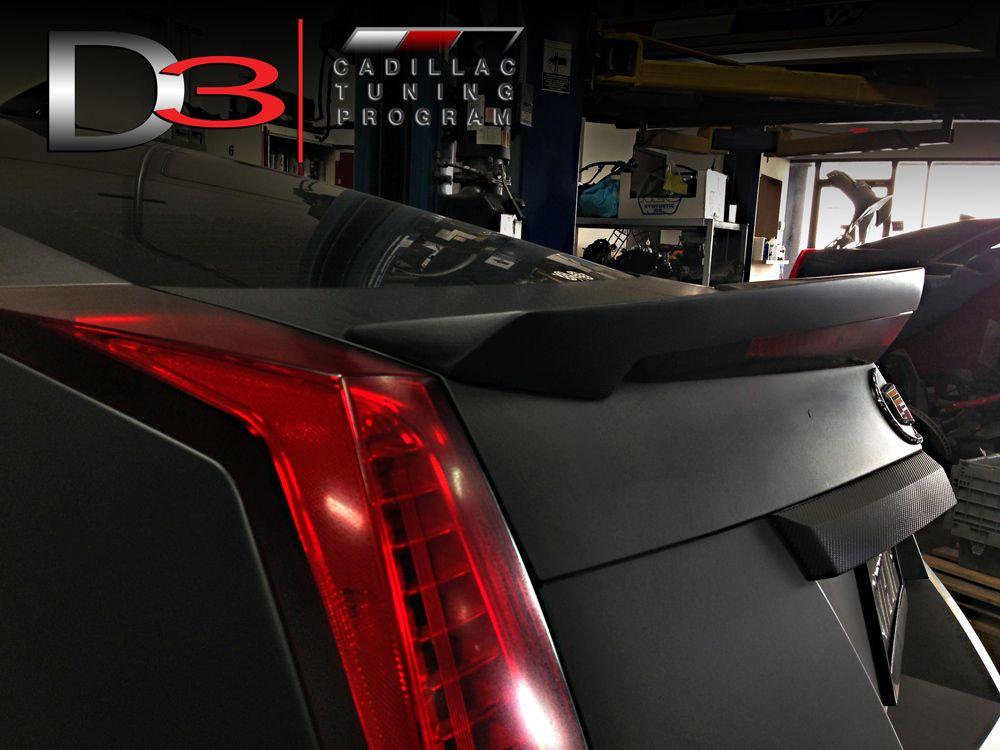 2011 2015 D3 Styled Cts V Coupe Rear Spoiler