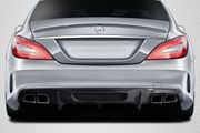 2012-2018 Mercedes W218 CLS63 Carbon AF-1 Rear Diffuser Aerofunction