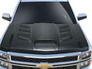 2014-2015 Chevrolet Silverado Carbon Creations Viper Styled Hood