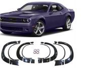 2015-2019 Dodge Challenger Base Model Fender Flares Demon Style Unpainted PP