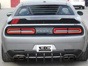 Dodge Challenger Chrome & Carbon Rear Diffuser 2015-2019