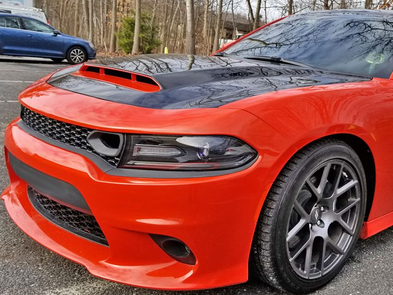 2015 2019 dodge charger beast demon styled ram air hood. Black Bedroom Furniture Sets. Home Design Ideas