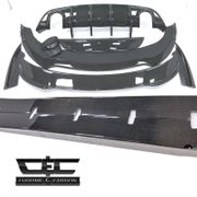 2015-2019 Dodge Charger Carbon Fiber Bodykit Chrome & Carbon