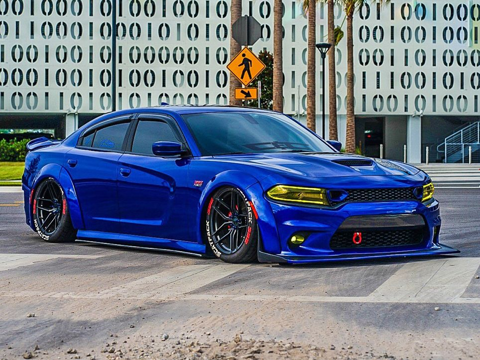 2015 2019 Dodge Charger Widebody Kit W Air Dam Srt