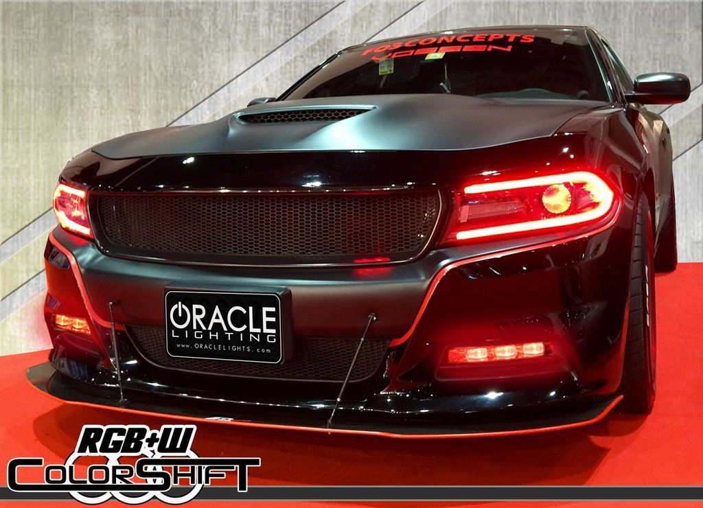 Can Light Conversion Kit >> 2015-2019 Dodge Charger ORACLE ColorSHIFT RGB+W Linear Fog Light Conversion Kit