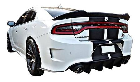 2015-2021 Dodge Charger Custom Hellcat Large Spoiler | ABS