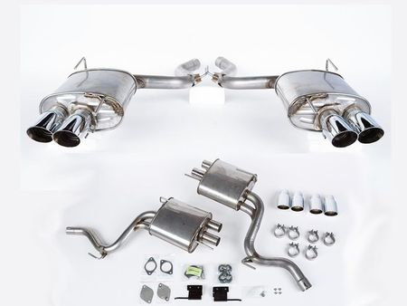 2015 Mustang V8 5.0 Coupe Fastback Roush Quad Tip Passive Exhaust System 421920 (Fits: 2015 Mustang)